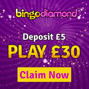 Deposit 5 Bingo Sites - Bingo Diamond