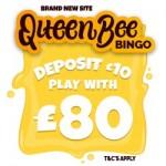 No Wagering Bingo Sites - Queen Bee Bingo