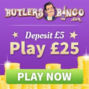Deposit 5 Bingo Sites - Butlers Bingo