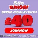 Deposit 10 bingo - Sun Bingo