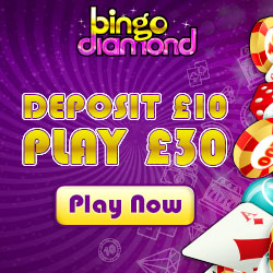 Low Wagering Bingo – Review of Bingo Diamond