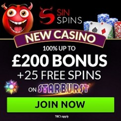 Review of Latest Casino Sin Spins – 96% Payout Rate